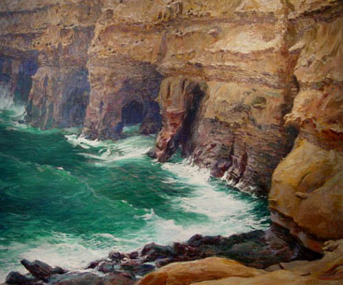 Guy Rose - La Jolla Caves
